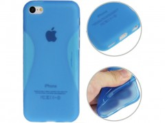 5830 funda de tpu para iphone 5c azul.jpeg
