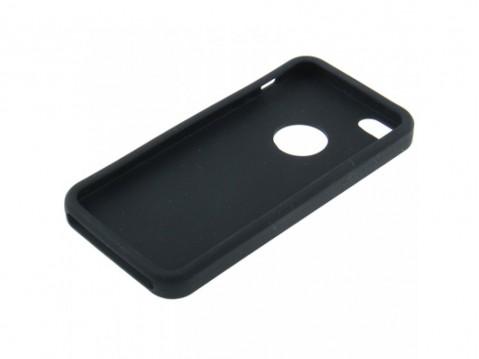 c3a4f6cebb2 Comprar Funda de silicona con agujero para iPhone 5. Negra con envío ...